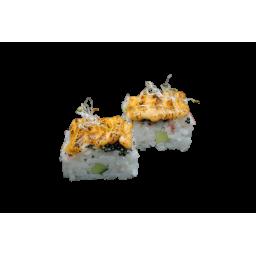 Пресованные суши с крабом