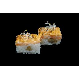 Пресованные суши с лососем