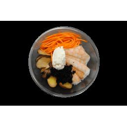 Суши-салат с креветкой