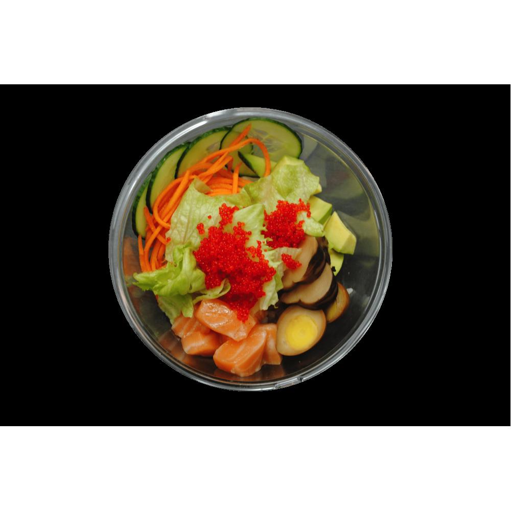 Суші-салат з лососем