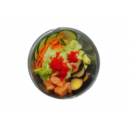Суши-салат с лососем