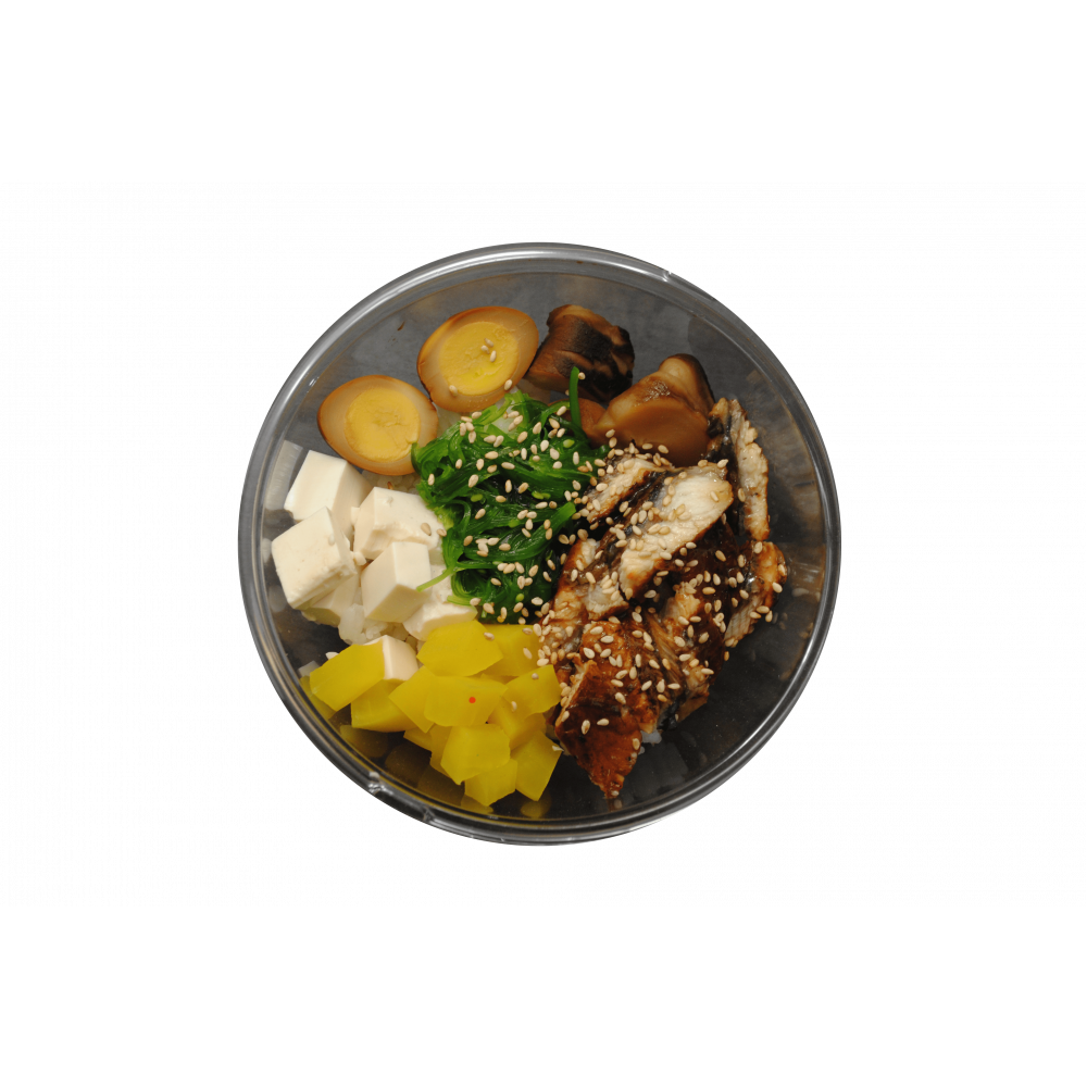 Суши-салат с угрем